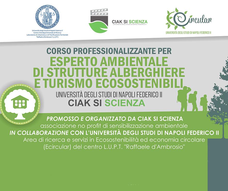 Corso Professionalizzante per ESPERTO AMBIENTALE IN STRUTTURE ALBERGHIERE